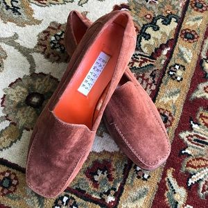 Suede Barney's New York Loafers 6